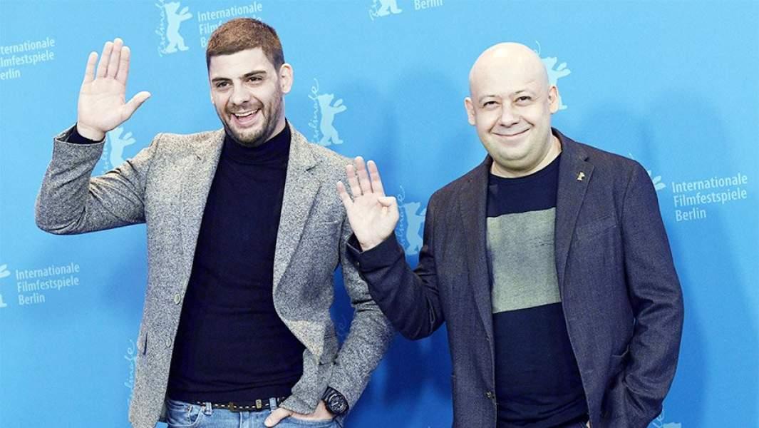 Милан Марич и Алексей Герман на68-м Берлинском кинофестивале