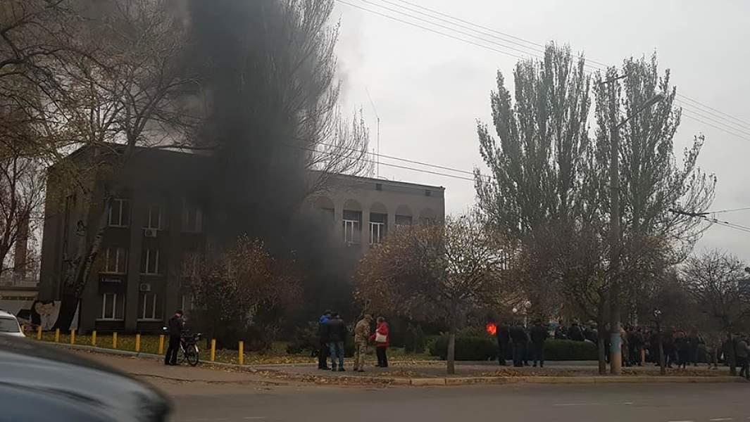 Утром 12 ноября «Криворожгаз» взяли штурмом