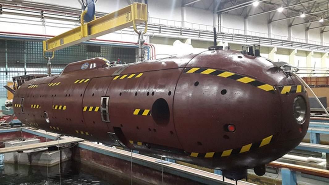 Автономный необитаемый подводный аппарат«Клавесин-2Р-ПМ»