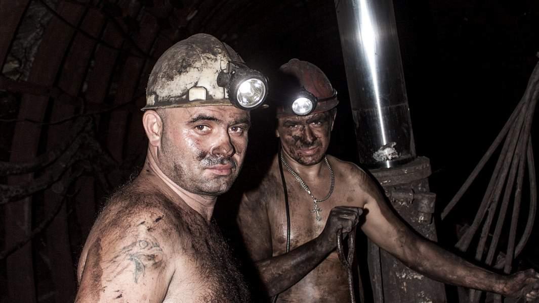 украинские шахтеры