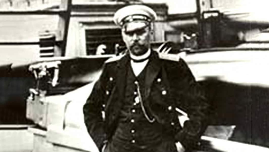 Евгений Романович Егорьев— русский морской офицер, капитан 1-го ранга, герой Цусимского сражения