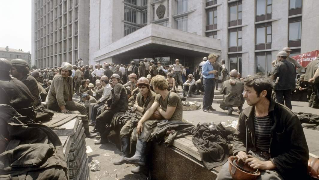 Забастовка шахтеров Донбасса. 1989 год
