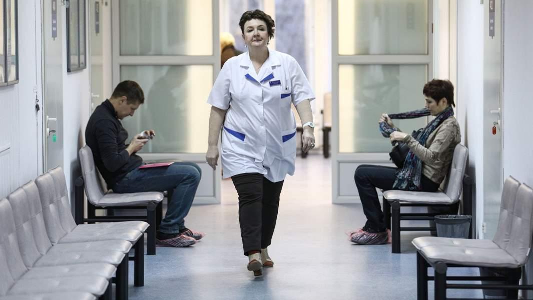 поликлиника очередь врач коридор