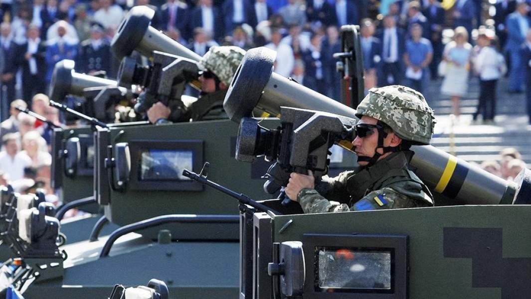 Военный парад в Киеве в День независимости Украины