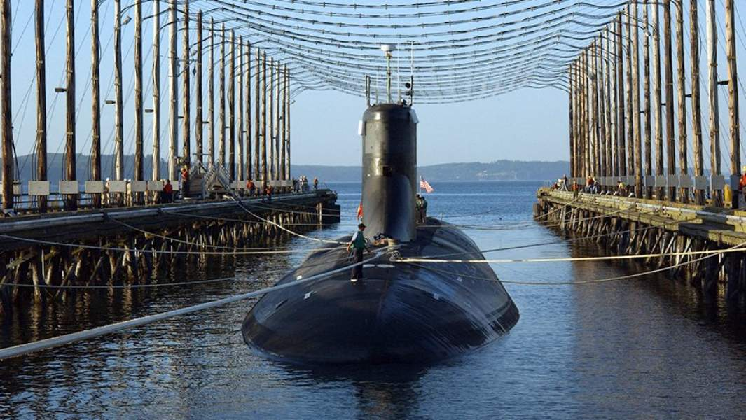 Подводная лодка ВМС СШАUSS Jimmy Carter