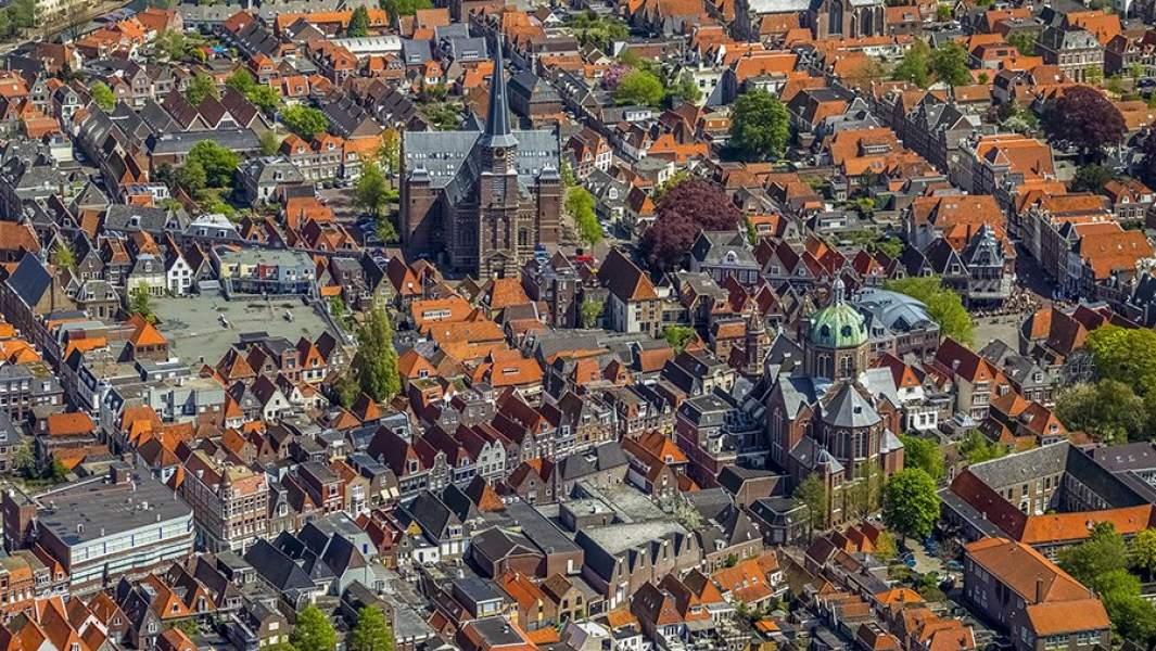 Город Хорн, Нидерланды, Голландия