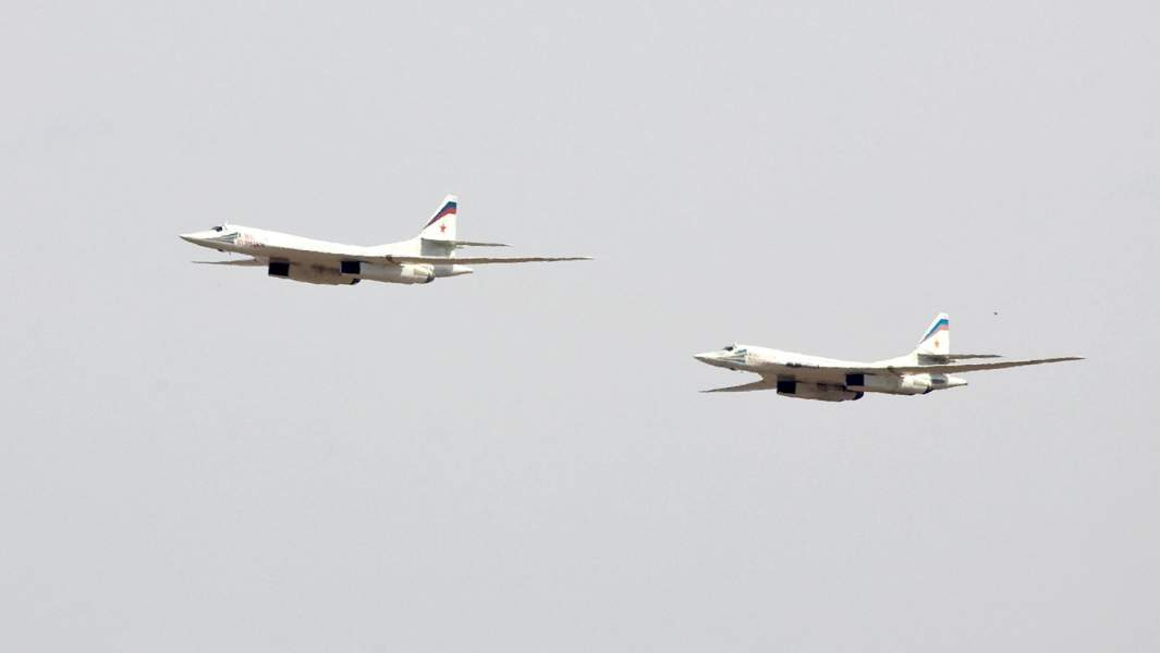 Российские бомбардировщики Ту-160