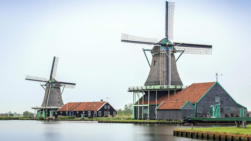 ДеревняЗансе-Сханс, Нидерланды, Голандия