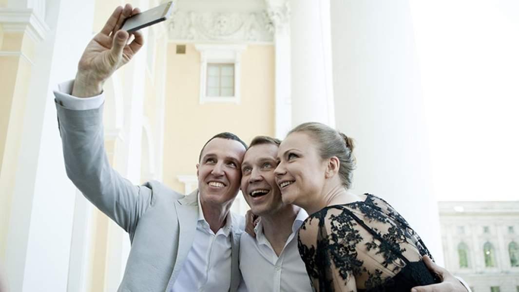 Актеры: Игорь Верник, Евгений Миронов и Мария Миронова