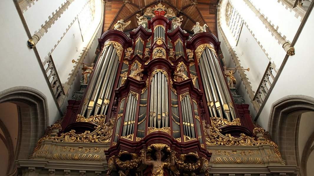 Орган собора святого Бавона