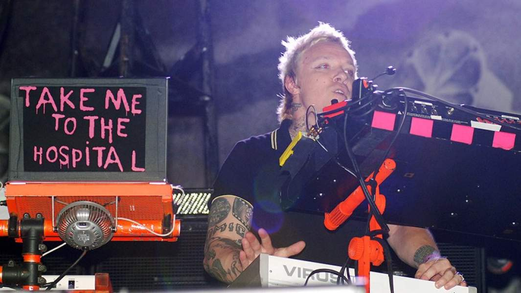 Участник группы The Prodigy, композитор и автор песен Лиам Хоулетт