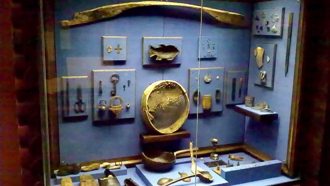 Материалы археологических раскопок в Мангазее (Государственный исторический музей)