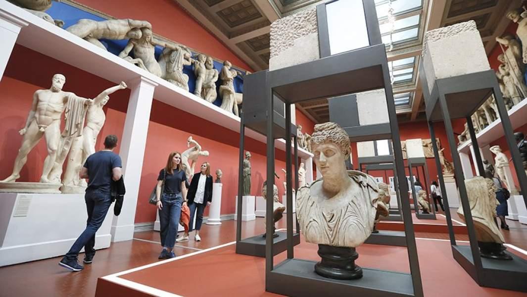 Выставка Фабрицио Плесси «Душа камня»в Государственном музее изобразительных искусств имени А.С. Пушкина