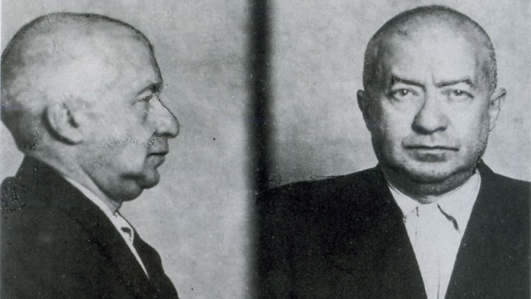 Борис Шимелиович. Фото из следственного дела