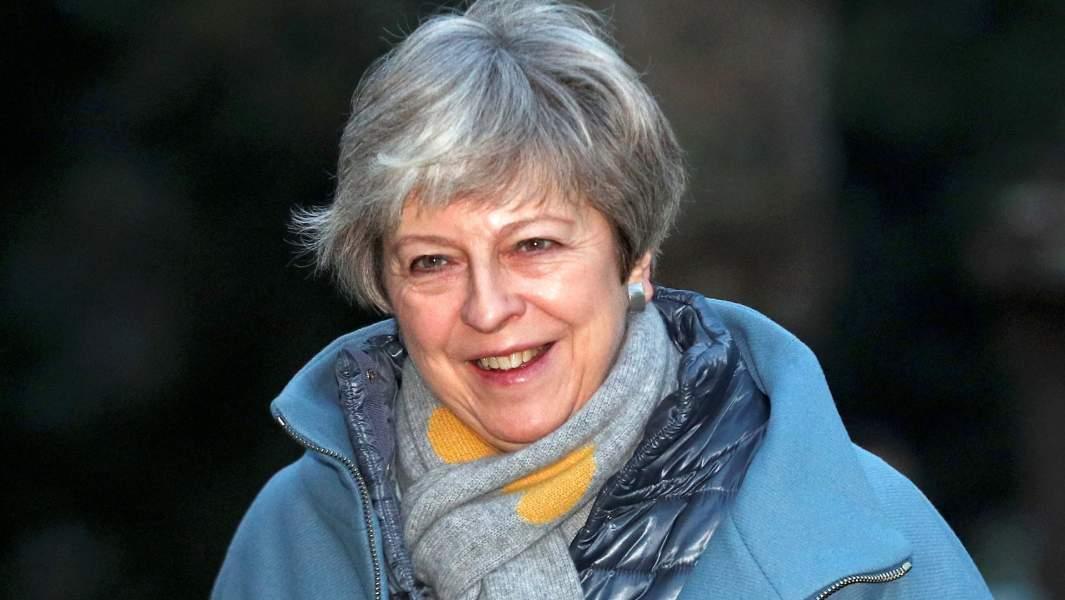 Британский премьер-министр Тереза Мэйв числеотказавшихся от поездки в Давос