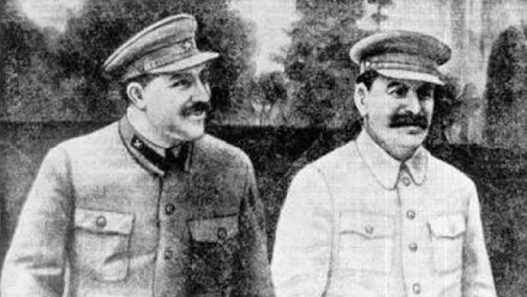 И.В. Сталин и Л.М. Каганович