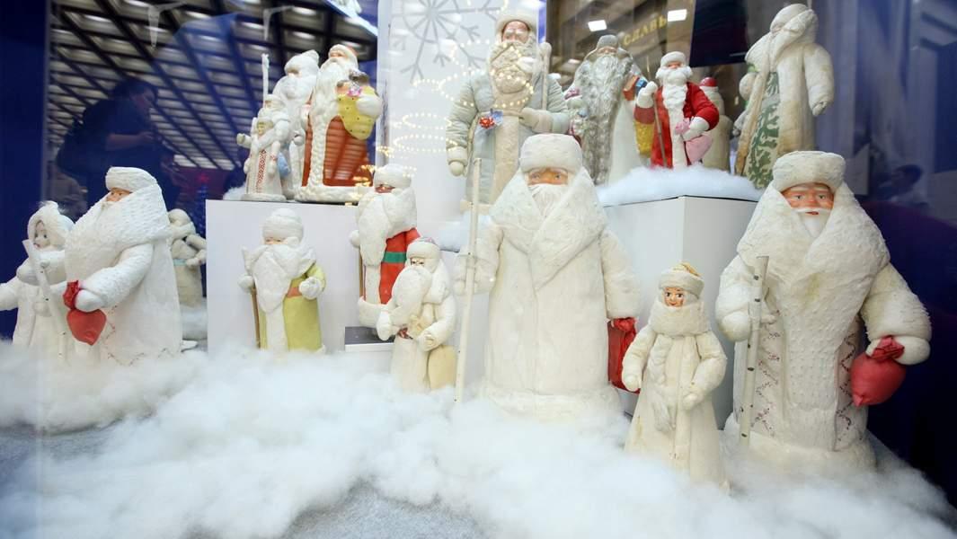 Дед мороз выставка музей победы