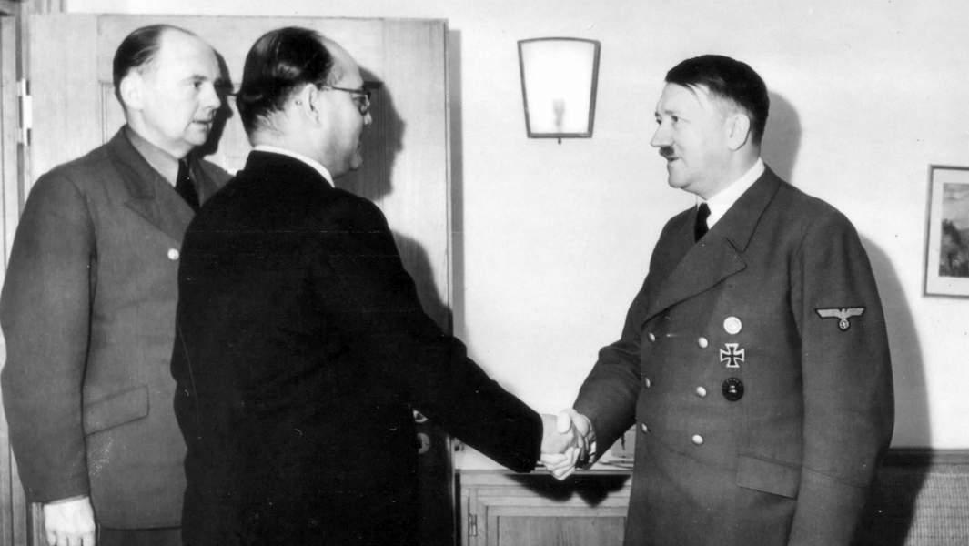 Субхас Чандра Бо, Адольф Гитлер
