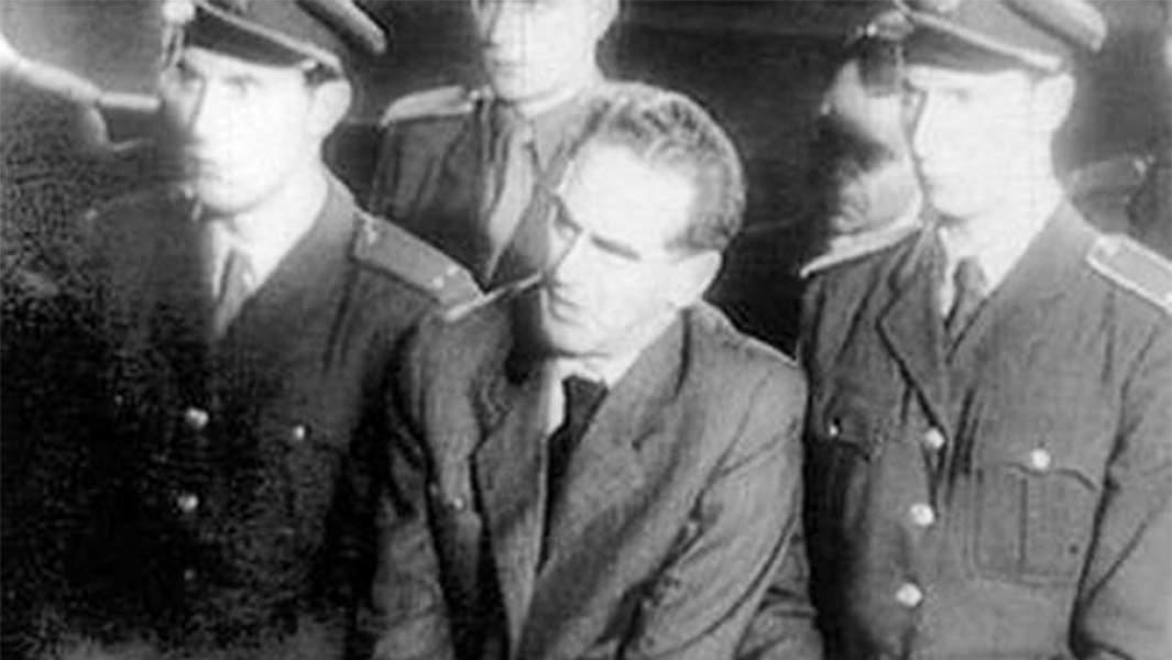 Рудольф Сланский во время процесса