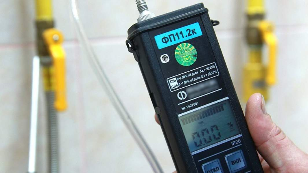 Проверка газоснабжения в квартире жилого дома с помощью газоанализатора