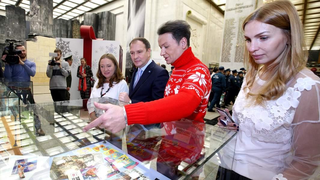 Александр Олешко выставка музей победы