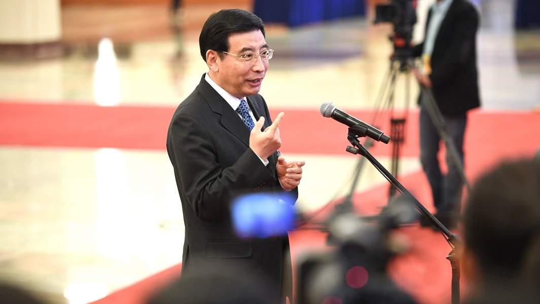 Министрпромышленности и информатизации Китая господинМяо Вэй