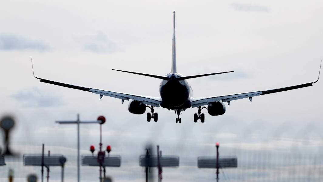 самолет вылет аэропорт