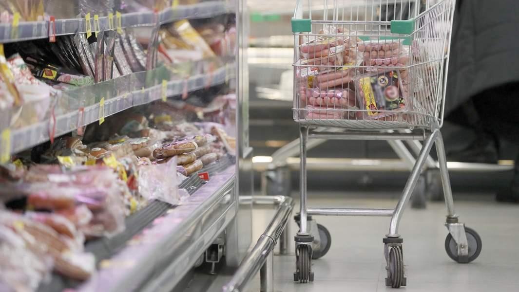 магазин торговля мясо сосиски