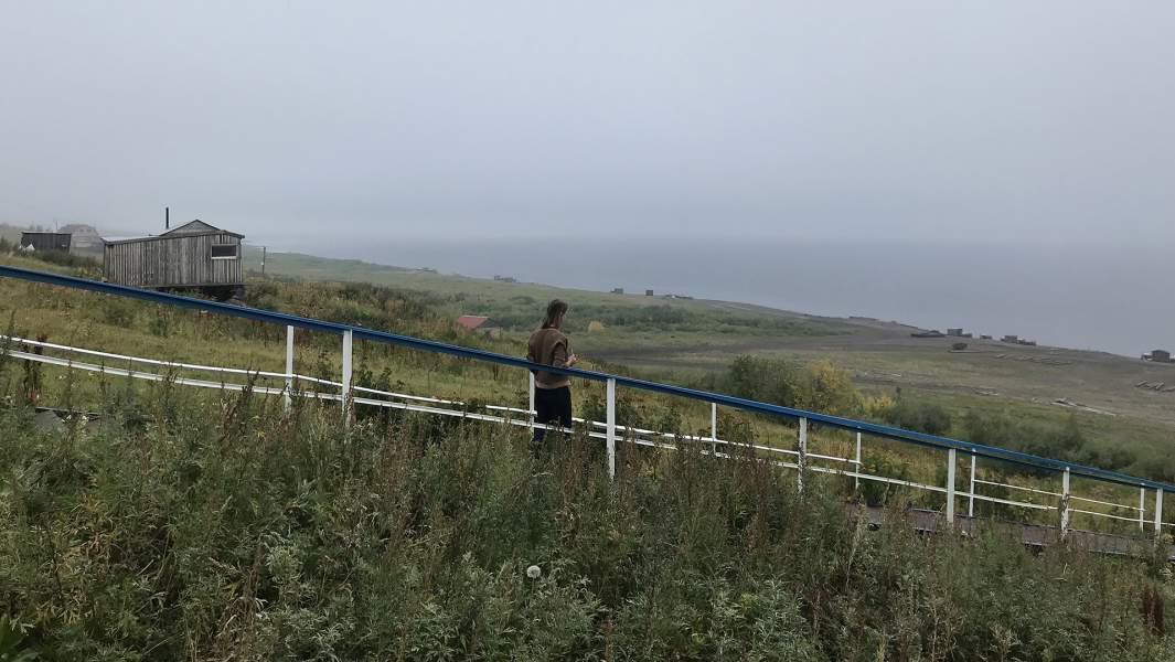 Енисей, Таймырский полуостров