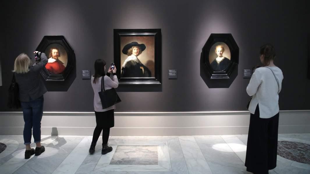 Выставка частного собрания голландской живописи XVII века супругов Каплан «Эпоха Рембрандта и Вермеера. Шедевры Лейденской коллекции»в Государственном музее изобразительных искусств имени Пушкина