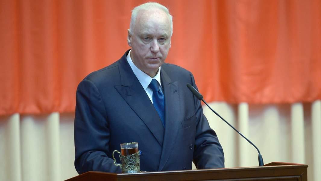 Председатель следственного комитета РФ (СК) Александр Бастрыкин