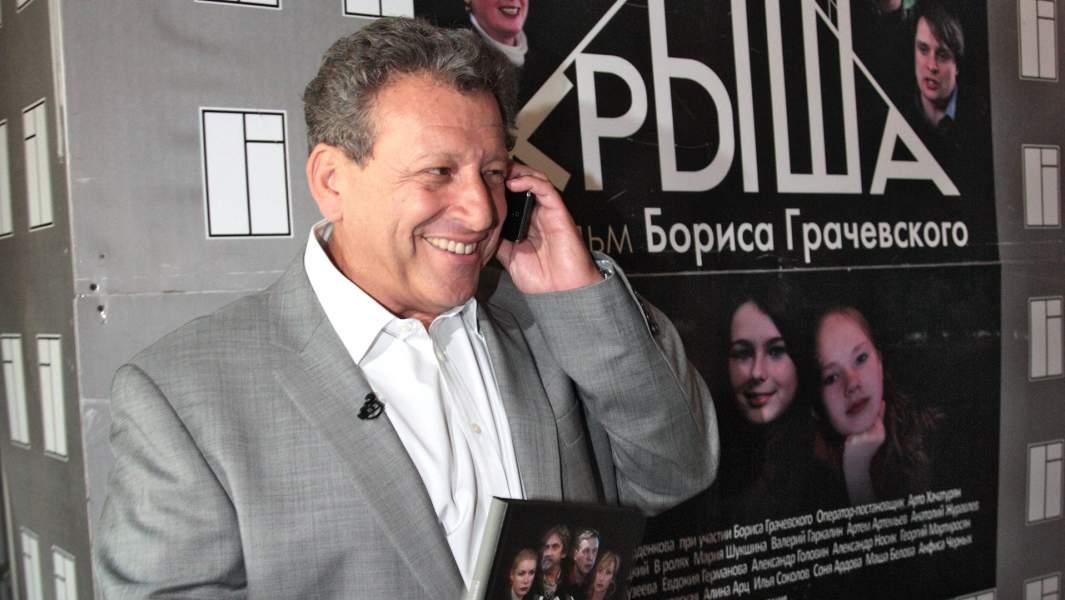Режиссер Борис Грачевский представил свой новый фильм «Крыша» в кинотеатре «Ударник»