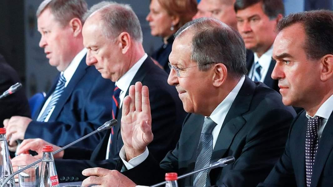 Конференция по вопросам безопасности в Сочи