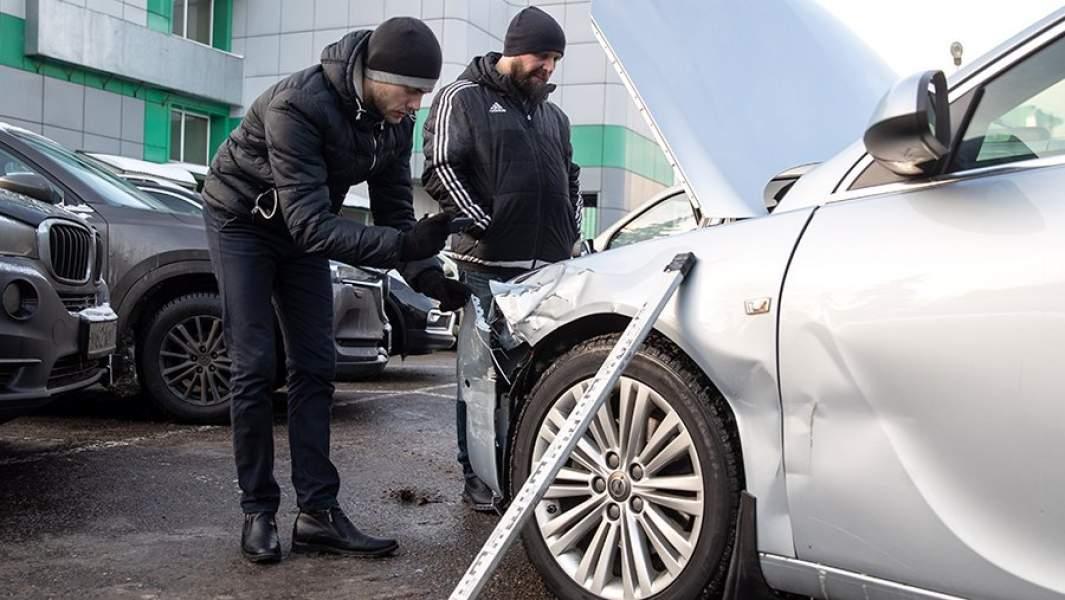 Осмотр транспортного средства, пострадавшего в дтп, независимым экспертом
