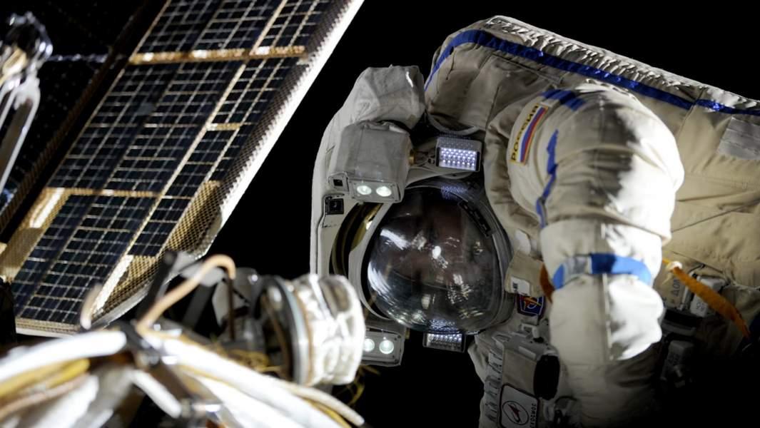 роскосмос орбита космонавт
