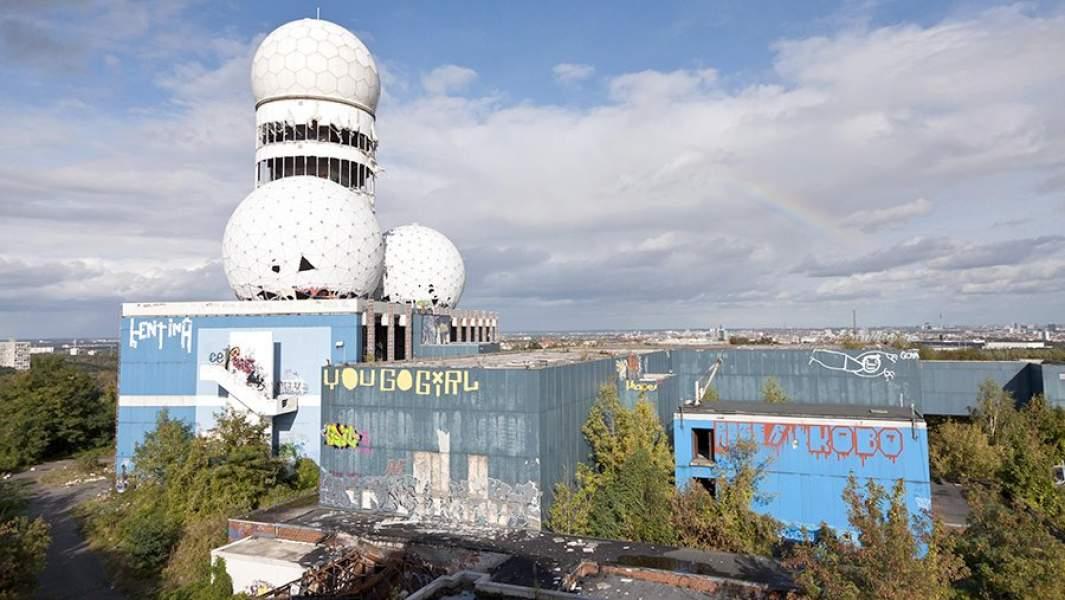 Заброшенная радиолокационная станция на Чертовой горе в Берлине