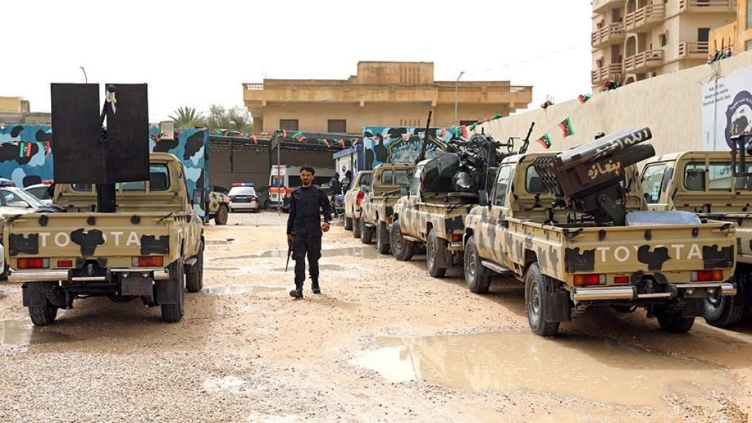 Военная техника, захваченная армией ПНС у военных подразделениймаршала Хафтара