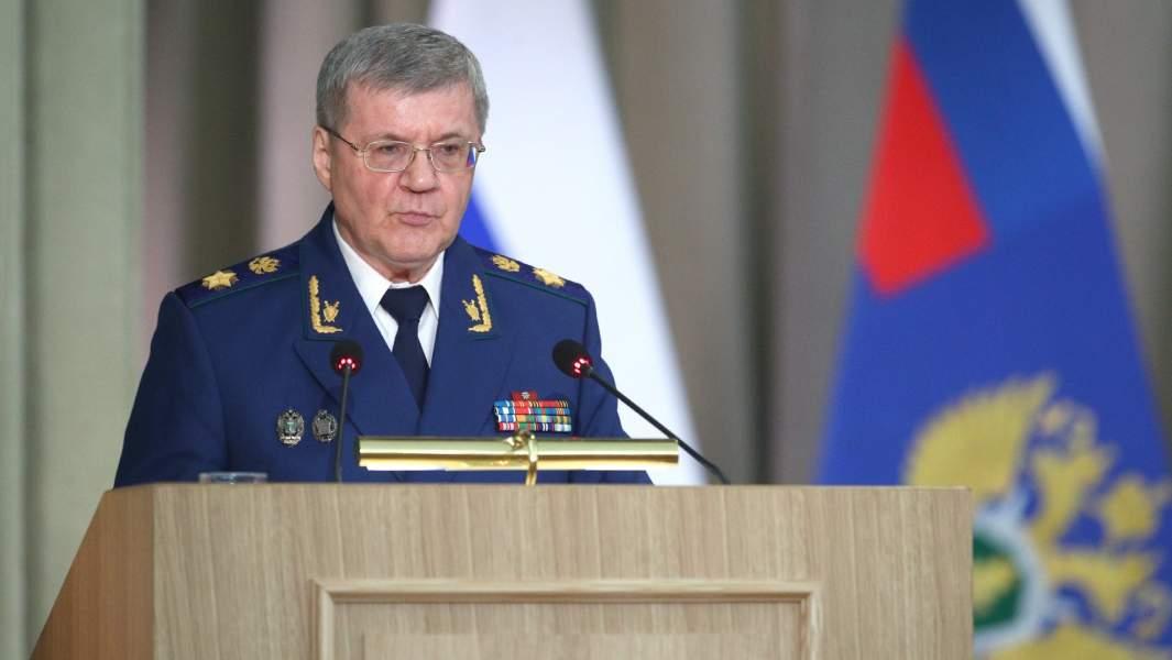 Генеральный прокурор Юрий Чайка