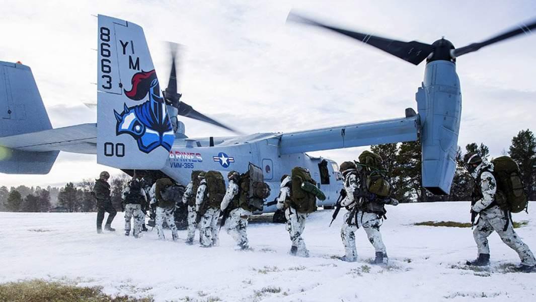 Крупномасштабные военные учения НАТО Trident Juncture 2018, Норвегия