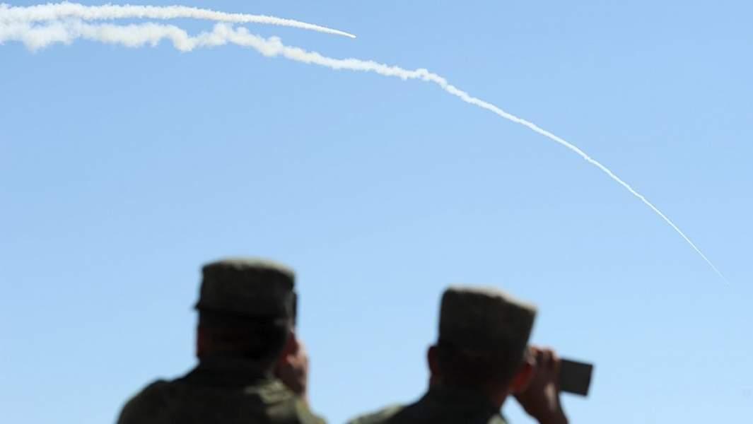 Во время боевых стрельб из зенитных ракетных систем