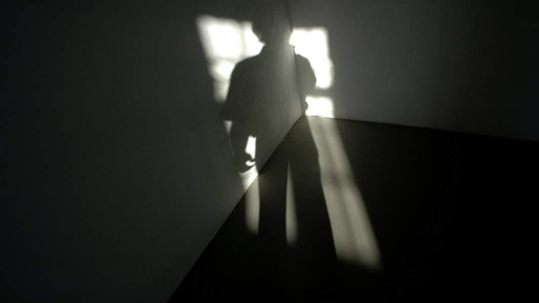 Тень в окне