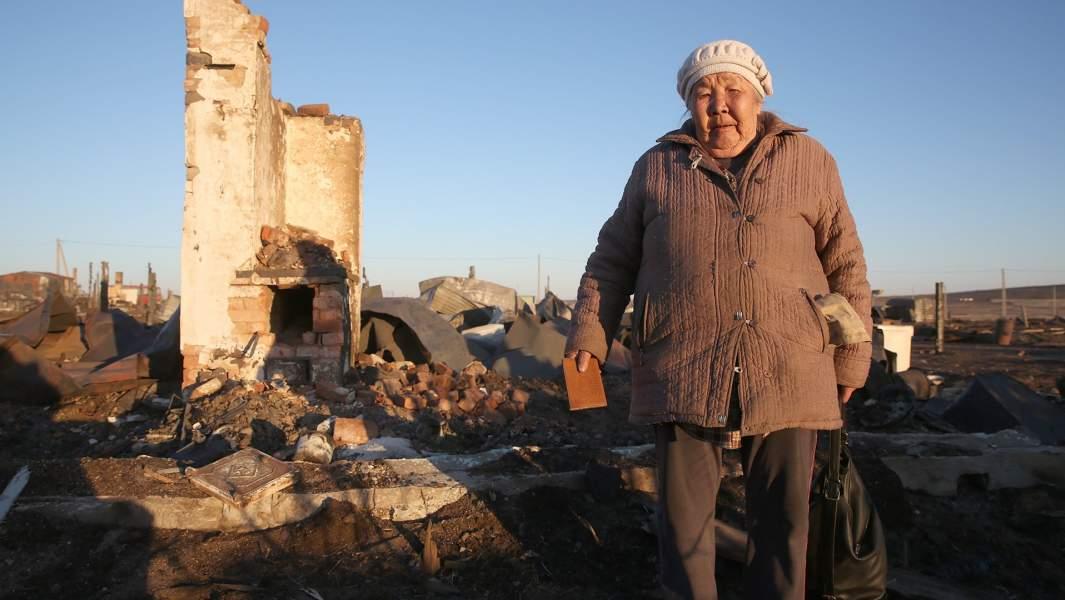 Пожары в Забайкалье