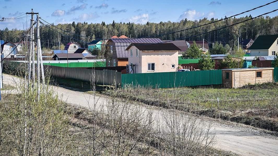 Дачные участки в деревне