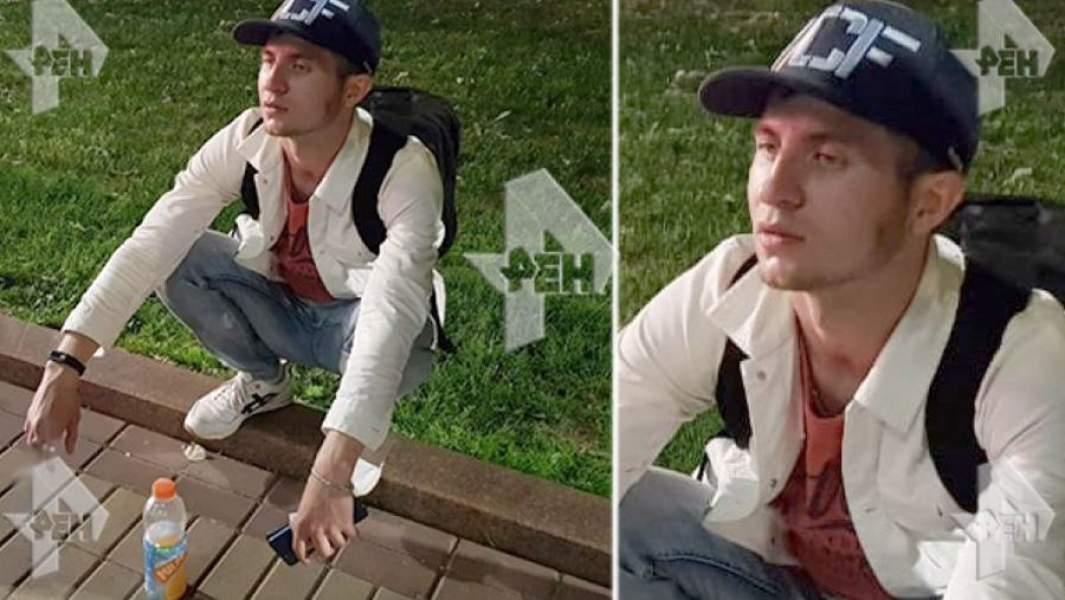 Марат Сабанов на месте отравления трех человек на Чистопрудном бульваре