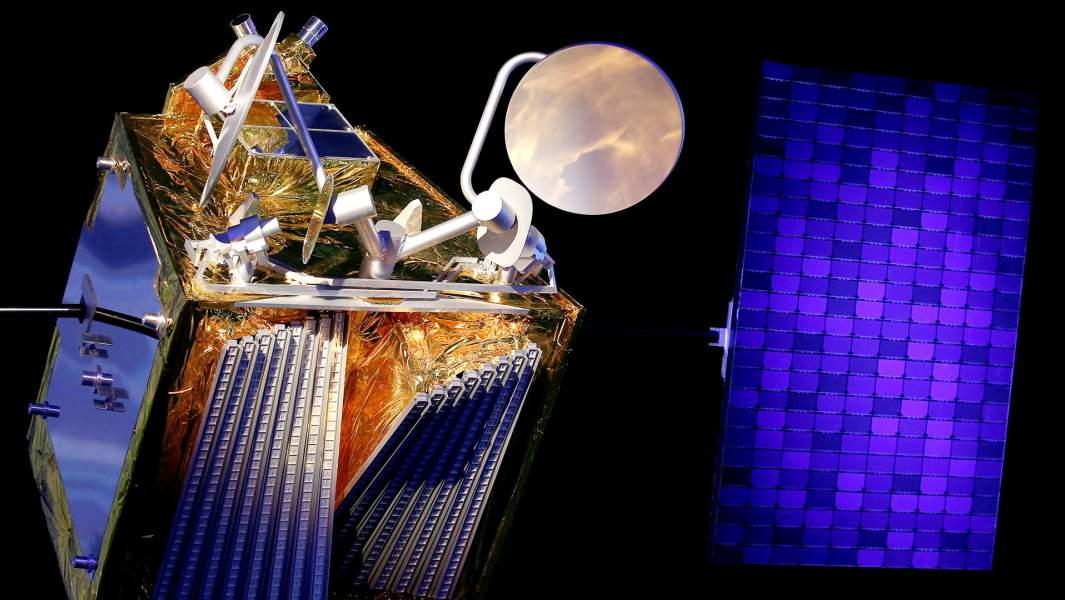 Модель спутника Airbus OneWeb