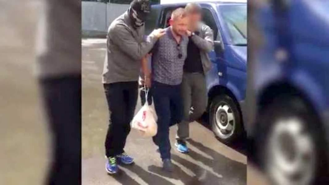 Задержаниекриминального авторитета Евгения Ремезова сотрудниками ФСБ