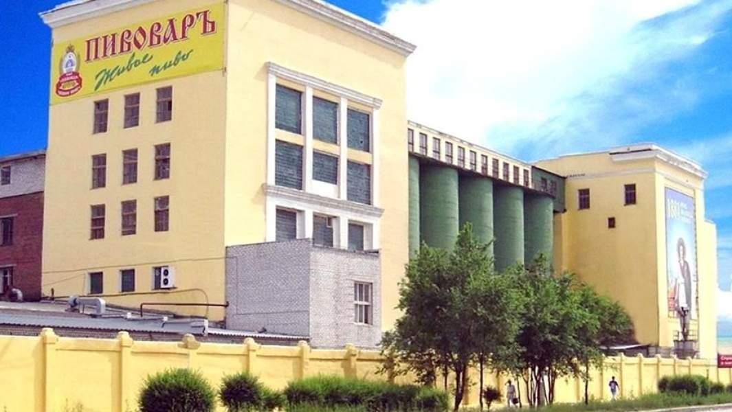 Здание завода «Пивовар» в Волгограде