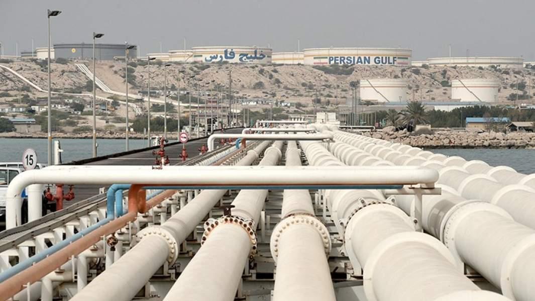 Иранский нефтяной терминал Харг