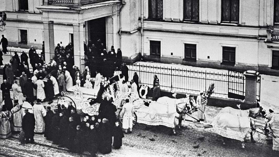 Похороны графа Сергея Витте