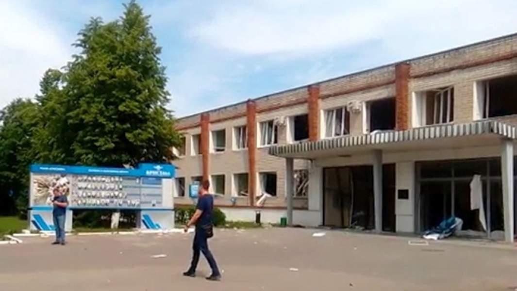 Проходная завода «Кристалл» в Дзержинске